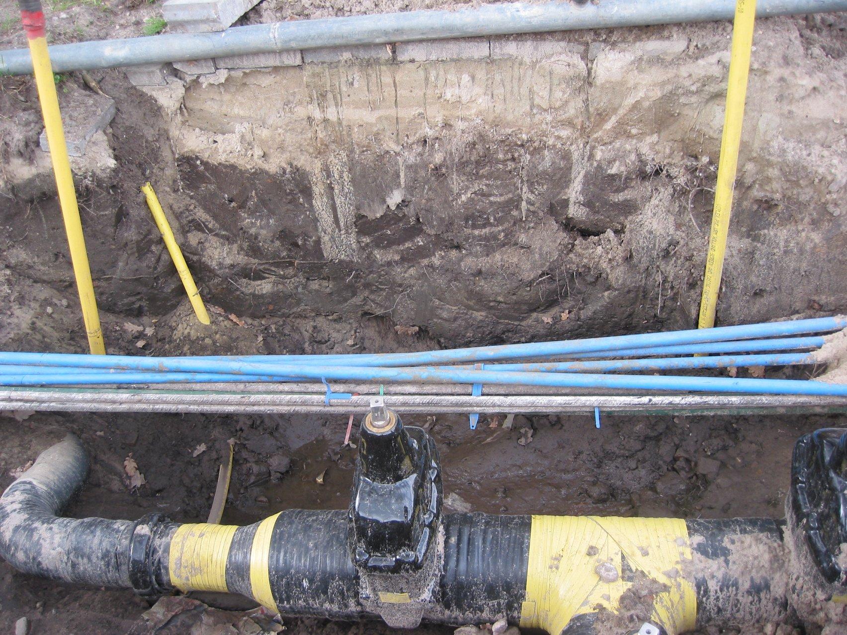 Verstopping in vuilwaterafvoer installatie